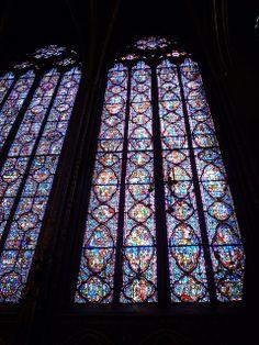 / Paris with Kids for Easter Break (Pt. Sainte Chapelle Paris, Saint Chapelle, Luis Ix, St Louis, Easter Breaks, Gothic Architecture, Stained Glass, House, Museum