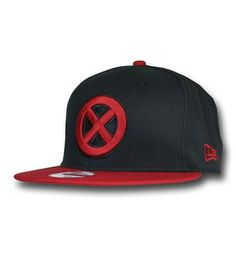 faa4fae6215ce X-Men Symbol Red Bill 9Fifty Snapback Cap