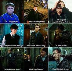 You wish you had as many brilliant one-liners as Neville Longbottom. But you always have to laugh at the 3rd line on top