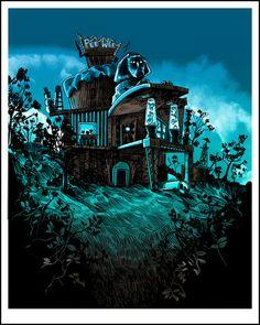 Tim Doyle - Pee Wee's Playhouse (glow in the dark variant)