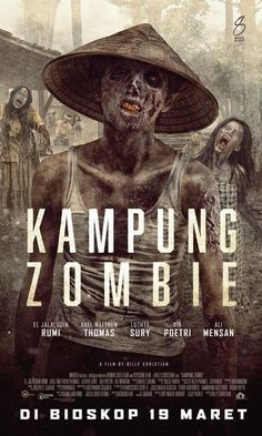 Zombob's Zombie News and Reviews: Indonesia gets its first  zombie flick 'Kampung Zo...
