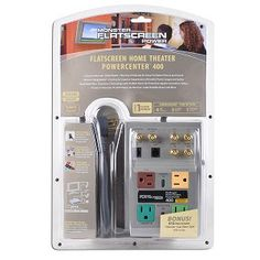 Monster Cable Home Theater PowerCenter 400 1665 Joules 125V 4-Outlet Surge Protector w/Phone/Coax Protection. $39.95 You save 50% off the regular price of $79.95 Get superior power protection for your entire home theater system with this Monster Cable PowerCenter 400 Surge Protector. With four color-coded, labeled 3-prong outlets, the PowerCenter HTS 400 provides easy connection to a Satellite receiver, TV, monitor or a DVD player!