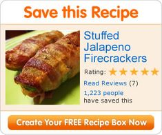 I made these poppers for a party. They were a huge hit. I would recommend wearing gloves while seeding the peppers.