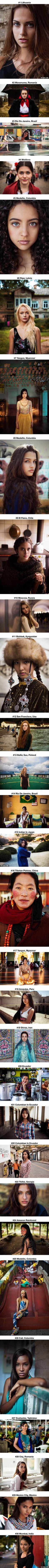 60 fotos de mujeres que demuestran que la belleza está en todas partes