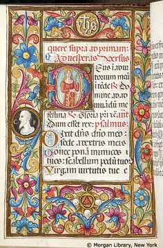 Book of Hours, MS M.80 fol. 54v - Images from Medieval and Renaissance Manuscripts - The Morgan Library & Museum
