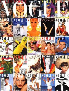 Vogue covers on Vogue magazine