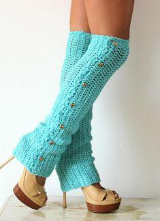 cutecrocs.com crochet leg warmers (22) #crocheting