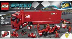 75913-1: F14 T & Scuderia Ferrari Truck