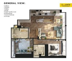 3 One Bedroom Apartments Under 750 Square Feet 70 Square Metres Captivating One Bedroom Apartment Designs Example Inspiration