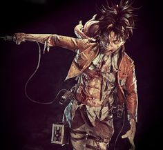 OMG *------* This Fanmade Levi Figure is soo amazing O/////O ~Comicon Challenge 2016 Levi Ackerman by Violic http://www.gameartisans.org/…/finals_comicon-challenge-2016…