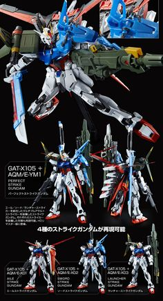 Blood Orphans, Strike Gundam, Gundam Mobile Suit, Gundam Custom Build, Gundam Seed, Gundam Art, Mecha Anime, Gundam Model, Figure Model