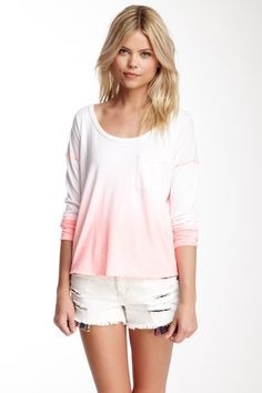 Free People Fun Dip Tee by Soft Summer Shades on @HauteLook