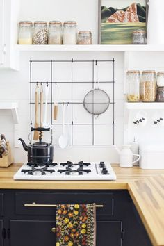 Everything I Learned From My Crazy (But Worth It) Kitchen Renovation #refinery29 #kitchen