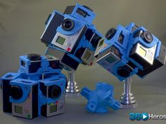 360Heros: 360° Video/Photo Gear – 3D Printed for GoPro® by Michael Kintner — Kickstarter