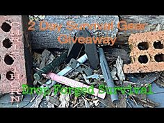 *** GIVEAWAY CLOSED*** 2 Day Survival Gear Giveaway - 48 Hours Only   #christhorngaw