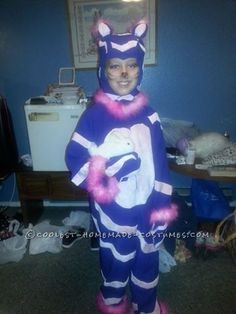 A Different Kind of Homemade Cheshire Cat Costume... Coolest Halloween Costume Contest