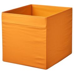 IKEA - DRÖNA, Box, orange, A good size for slightly larger things like clothes, media accessories and toys. The box fits perfectly in KALLAX shelf. Easy to pull out and lift as the box has handles. Glass Cabinet Doors, Mirror Cabinets, Glass Door, Tv Storage, Small Storage, Storage Baskets, Kallax Shelving Unit, Shelves, Kallax Insert