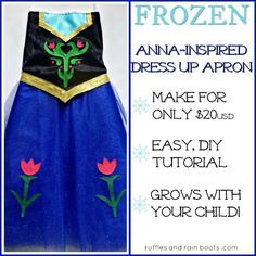(9) Name: 'Sewing : FROZEN-Inspired Princess Anna Dress
