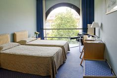 Double Room with a fantastic view of the beautiful internal garden