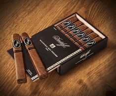 Davidoff Nicaragua Box Pressed Cigars ~ These medium- to full-bodied puros offer cigar aficionados a wilder, more intense smoke with a blend boosted by a fiery Esteli Ligero leaf, aged Jalapa, Ometepe, and Condega long-filler tobaccos for a sweet-bitter palate stimulation with a dark, oily Habano Nicaragua Oscuro wrapper. Complex and perfectly balanced with uniquely creamy, sweet, spicy, and bitter flavors, Davidoff Nicaragua Box Pressed are impeccably constructed premium cigars.