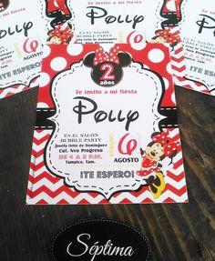 Invitaciones de cumpleaños #minnie #minniemouse #disney #mikeymouse #invitaciones #girl #girly #cute #hechoenmexico #handmade #handcraft #hechoamano #recuerdos #cumple #invitations #favors #tampico #mexico #exclusivas @septimapublicidad