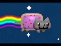 Nyan Cat in 3D (Original Anim8or Version)