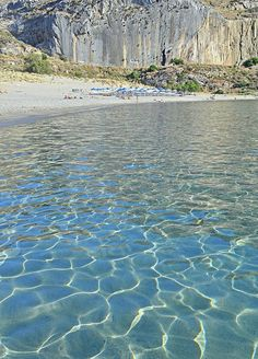 The crystal clear waters of Plakias beach on the south coast of Rethymno. https://www.facebook.com/SentidoAegeanPearl/photos/a.324247020949968.70687.198234770217861/901846633190001/?type=1