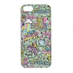 Graffiti Print Phone Case