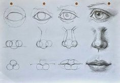 Imagem de drawing, nose, and art