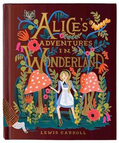 Rifle Paper Co. 150th Anniversary Lewis Carroll Alice in Wonderland Puffin Hardback Classi | The Terrier and Lobster