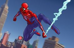 Image result for insomniac spiderman