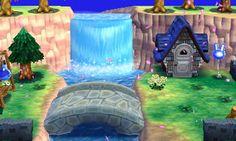 """Casa de Jeremías estilo """"Azul"""" - Exterior 1 #ACHappyHome #Nintendo"""