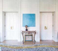 Villa Albani, Rome, Contemporary, Living Room,  Achille Salvagni Atelier