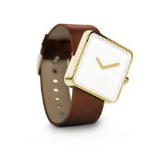 Slip Watch Gold Brown, £121.50, now featured on Fab.