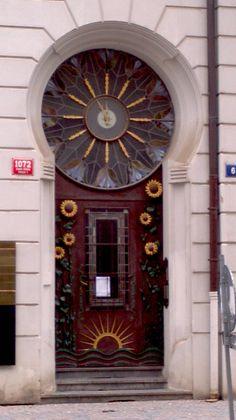 Linda Porta em Praga-RT