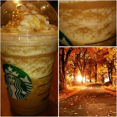 Try : * TASTE OF OCTOBER FRAPPUCCINO * !! If you're looking for a Frappuccino that pretty much tastes like October, this is it!