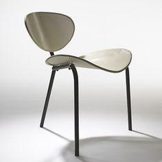 """Nagasaki"" chair by Mathieu Mategot, France, 1954."