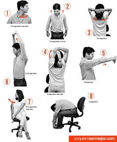 El estrés laboral, ejercicios para manejarlo