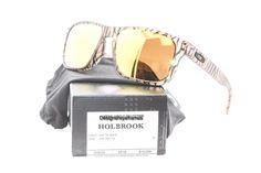 OAKLEY Holbrook OO 9102-44 Urban Jungle MatSepia W/24K Iridium Sunglas NWC AUTH  #Oakley #Classic
