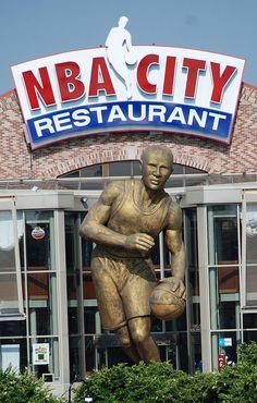 NBA City Restaurant | Universal Studios, Orlando, via Flickr.