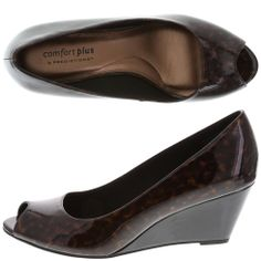 a04461222630 Sale Comfort Plus by PredictionsWomen s Klinton Peep Toe Wedge Payless Shoes  Peep Toe Wedges
