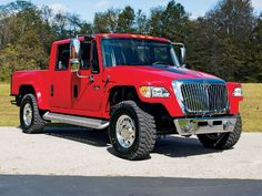 My Dream Truck. The International MXT