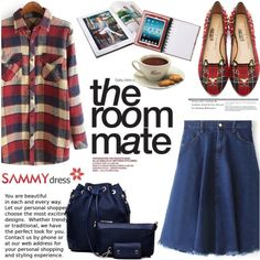 The room mate by helenevlacho on Polyvore featuring moda, Charlotte Olympia, women's clothing, women's fashion, women, female, woman, misses, juniors and sammydress