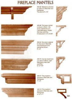 faux fireplace mantle idea