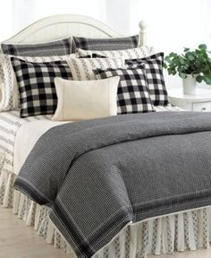 Ralph Lauren Winter Cottage Queen Duvet Comforter Cover Set New Plaid Bedding, Black Bedding, Home Bedroom, Ralph Lauren Bedding, Luxury Bedding Collections, Duvet Comforters, Bed, Luxury Bedding, Bed Linens Luxury