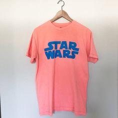 a157c20b46f04 Star Wars T Shirt 💫 For all my little jedi ⭐ Salmon colored Star Wars
