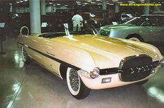 STRANGE CONCEPT CARS - 1954 DODGE GHIA FIRE ARROW ROADSTER