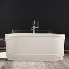 Product Code: Dado Baths and Basins. DADOquartz, unique to Dado Baths and Basins is an engineered stone made from resin and quartz. Boutique Bathroom, Bathroom Bath, Bathroom Fixtures, Bathroom Showrooms, Bathroom Renovations, Baths For Sale, Hamptons Style Homes, Stone Bath, Bath Mixer