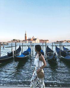 "Venice ""Evenings like this ✨ Venice Travel, Journey, Sunset, Instagram, Sunsets"