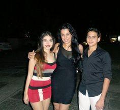 Aalia and Omar Ebrahim with mom Pooja Bedi | itimes